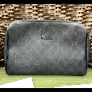 Authentic Gucci Clutch / Cosmetic Pouch